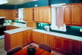 how to restain oak cabinets home guides sf gate