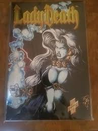 Lady Death II Between Heaven And Hell 1 Chromium Cover NM Condition