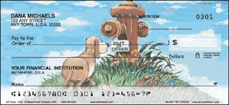 Dog Personal Checks