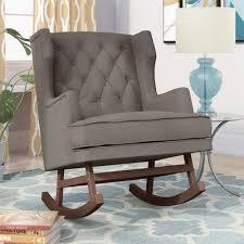 Wayfair Rocking Chair Uk by Living Room Rocking Chair Belham Living Holden Modern Rocking
