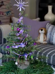 Christmas Tree Decorations Ideas 2014 by Mini Christmas Tree Ideas Hgtv
