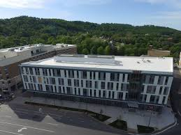 Asheville City Center BB&T Building & Hilton Garden Inn – Benton