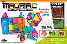 daily cheapskate the best deals on magnetic tile building sets