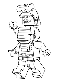 Click To See Printable Version Of Lego Ninjago Lord Garmadon Coloring Page