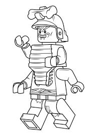Lego Ninjago Lord Garmadon Coloring Page