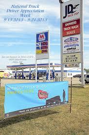 100 Truck Stop Inc Keystone Logistics Banner At JDs Keystone Logsitics
