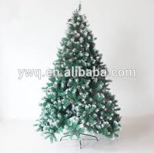 7ft White Tipped Christmas Tree With Pine Cone And Red Berry