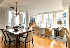 Combined Living Room Dining Unbelievable Decorating A Small Combination