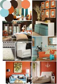 Coral Color Decorating Ideas by Color Palette Inspo Chocolate Brown Coral And Robin U0027s Egg Blue