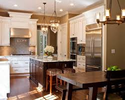 tuscan themed kitchen island i like the light fixtures
