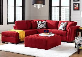 Cindy Crawford Sectional Sofa Dimensions by Sectional Cindy Crawford Home Metropolis 4 Pc Microfiber