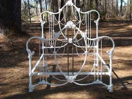 Antique Wrought Iron King Headboard by 54 Best Antique Iron Beds Images On Pinterest Antique Iron Beds