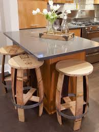 View In Gallery Rustic Bar Stools Made From Old Wine Barrels