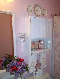 French Shabby Chic Bathroom Ideas by Small Bathroom Not So Shab Shab Chic Fake A Window With Regard