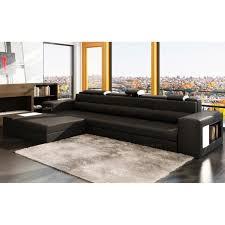 canapé sofa italien canapé d angle en cuir italien 4 5 places enjoy achat vente
