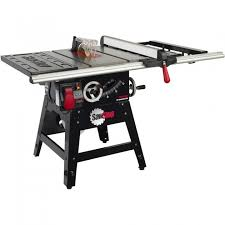 sawstop 1 75hp 10 contractor table saw w 30 fence cns175 sfa30
