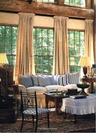 Rustic Living Room Curtains Modern Black Drum