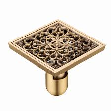 Bathtub Drain Strainer Cover by Dove Embossed Bathroom Shower Drain Floor Trap Waste Grate With
