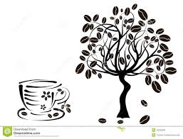 Coffee Plant Clipart Black And White Pencil In Color