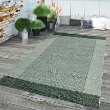 outdoorteppich bordüre web design grün beige
