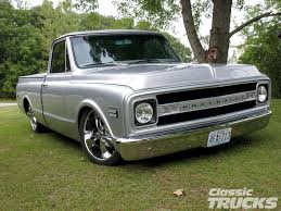 1969 Chevy C10 Pickup Truck - Hot Rod Network Chevrolet C10 For Sale Hemmings Motor News 1961 Chevy Pick Up Truck Restomod For Trucks Just Pin By Lkin On Nation Pinterest Classic Chevy 1966 Gateway Cars 5087 Read All About This Fully Stored 1968 Pickup Truck Rides Magazine 1972 On Second Thought Hot Rod Network 1967 Stepside Chevy C10 Making The Most Of Life In A Speedhunters 1984 14yearold Creates His Own