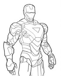 10 Pics Of Iron Man Mark 7 Coloring Pages 42 With Regard To