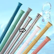 new telescopic extendable shower curtain rod rail 70cm 110cm