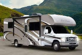 Class C Motorhomes Like The Four Winds Line From Thor Motor Coach Are Built On Van