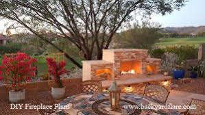 Your Outdoor Fireplace Headquarters DIY Fireplace Plans by