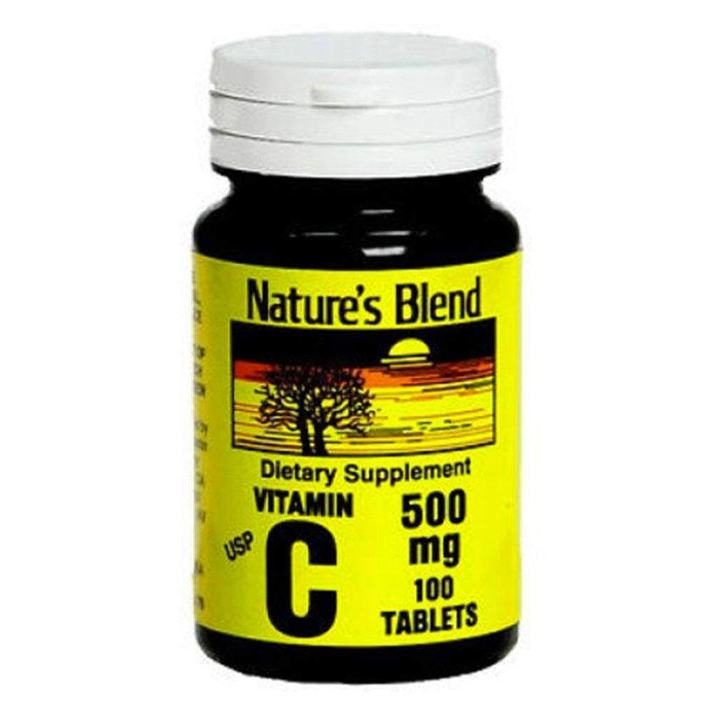 Nature's Blend Vitamin C Supplement - 100 Tablets