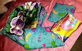 nickelodean toddler girls comforter sheet bedding set bubble