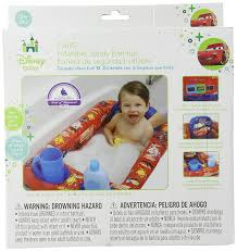 Inflatable Bath For Toddlers by Amazon Com Disney Cars Inflatable Safety Bathtub Red Baby