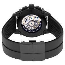 Porsche Design P 6930 Chronograph Automatic Black Dial Black