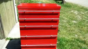 fake snap on matco toolbox dresser drawer diy wood youtube