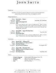 Sample Objective For Resumes Free Objectives Graduate Resume