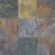 Tile Inc Fayetteville Nc by Ms International Multi Classic 16 In X 16 In Gauged Slate Floor