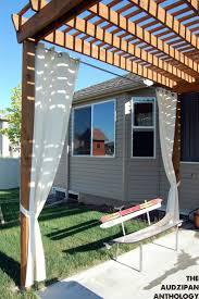 Patio Curtains Outdoor Idea by 129 Best Awnings Pergolas Trellises Images On Pinterest