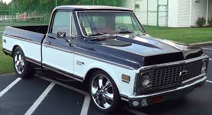1972 Chevy C/10 Street Truck - YouTube