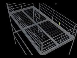 ikea loft bed instructions in 3d youtube