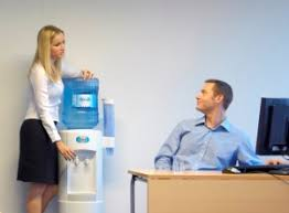 The water cooler Recession buster