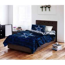 Decorating Ideas Dallas Cowboys Bedroom by Nfl Dallas Cowboys Bed In A Bag Complete Bedding Set Walmart Com