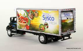 100 Sysco Trucking DCP 164 International 4400 StraightBody Delivery Truck SYSCO Fresh