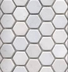 white snow marble hexagon traditional bathroom tile tiles for the