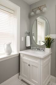 Powder room ideas powder room transitional with gray walls small