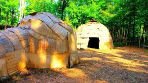 100 Meadowcroft Rockshelter Native American Indians Village Model