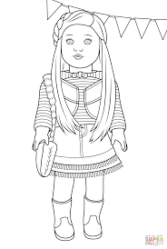 Free Printable American Girl Doll Coloring Pages 2