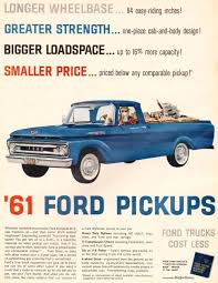 1961 Ford Truck Ad-01 | Adverts | Pinterest | Ford, Ford Trucks And ... 61 Ford F100 Turbo Diesel Register Truck Wiring Library A Beautiful Body 1961 Unibody 6166 Tshirts Hoodies Banners Rob Martin High 1971 F350 Pickup Catalog 6179 Truck Canada Everything You Need To Know About Leasing F150 Supercrew Quick Guide To Identifying 196166 Pickups Summit Racing For Sale Classiccarscom Cc1076513 Location Car Cruisein The Plaza At Davie Fl 1959 Amazoncom Wallcolor 7 X 10 Metal Sign Econoline Frosty Blue Oval 64 66 Truckpanel Pick Up Limited Edition Drawing Print 5