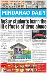 Mindanao Daily Set A March 24 2017 By Dante Sudaria