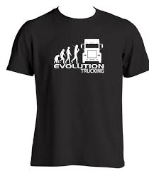100 Gift Ideas For Truck Drivers EVOLUTION TRUCKING Men Mens T Shirt Driver Cab
