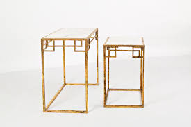 Global Archive Marble And Matte Gold Nesting Tables (Set Of 2) By VFM  Signature At Virginia Furniture Market Nesting Tables Set Of 2 Havsta Gray Josef Albers Tables 4 Pavilion Round Set Zib Gray Piece Oslo Retail 3 Modern Reflections In Blackgold Two Natural Pine And Grey Zoa Nesting Tables Set Of Lack Black White Contemporary Solid Wood Maitland Smith Faux Bamboo